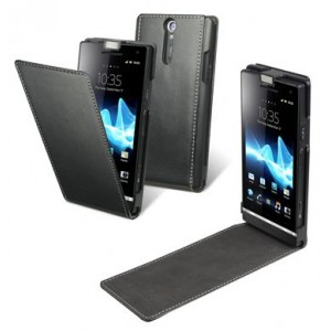Funda Slim Negra Xperia U Made For Xperia
