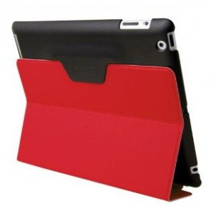 Funda Cabrio Kriz Jetset Roja Apple New Ipad Uniq