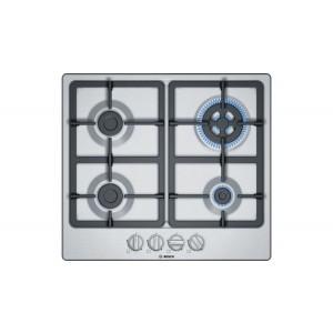 Placa Gas Bosch Pgh6b5b90 4f 60cm Inox