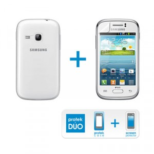Funda 4-Ok Protek Duo Samsung Galaxy Young+pro. Pa
