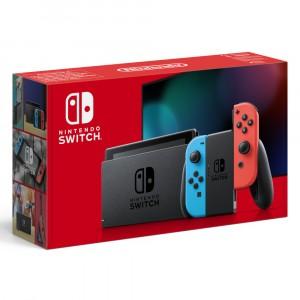 Consola Nintendo Switch Hw Azul/Roja Neon