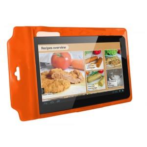 Funda Universal Ksix Easy Cook Standing Naranja