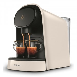 Cafetera Express Philips Lm8012/00 L'Or Barista Blanca (Doble Capsula)