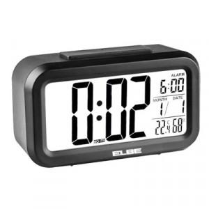 Reloj Despertador Elbe Rd668n Digital Negro