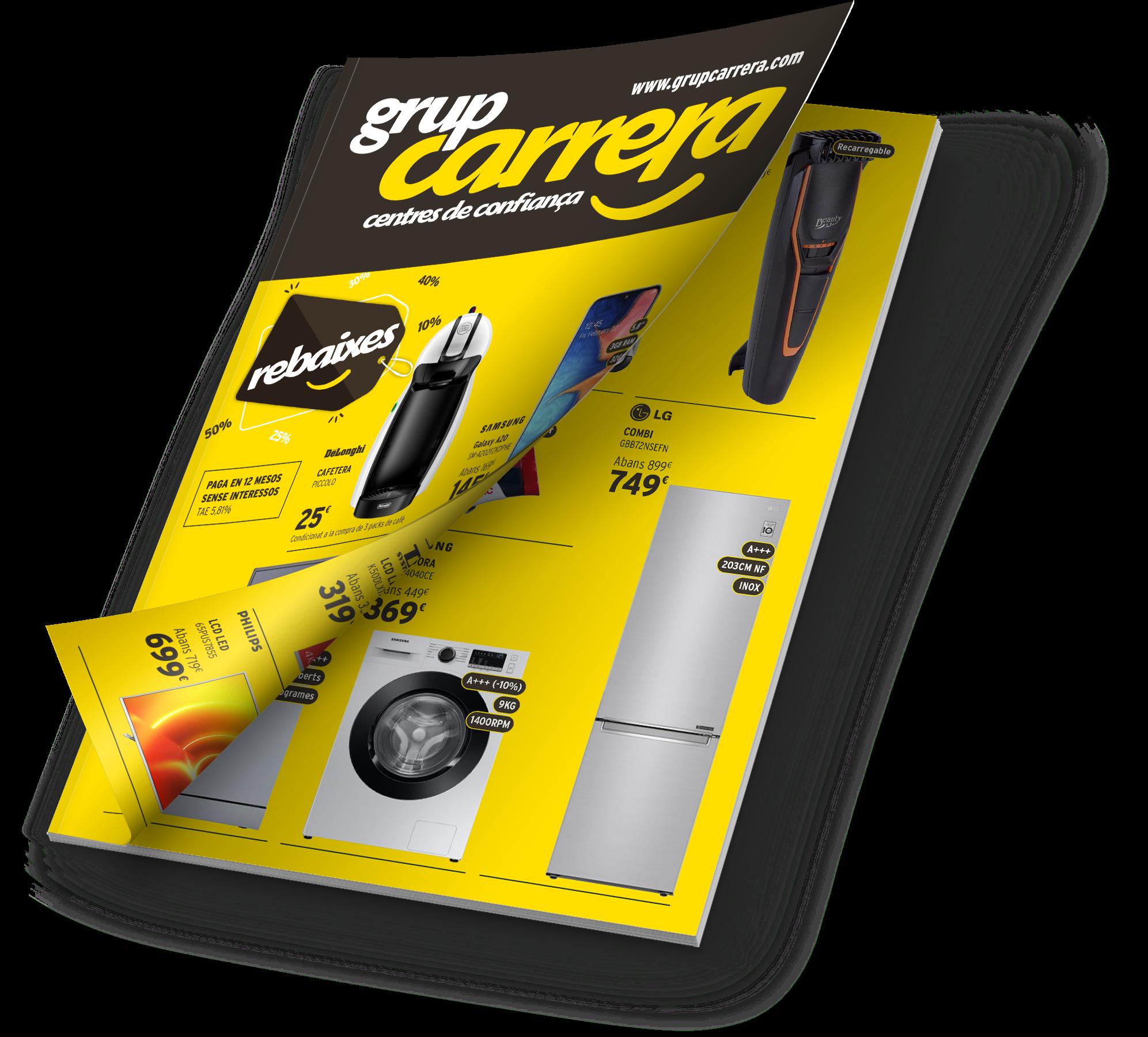 Catálogo Rebajas 2021 - Grupo Carrera