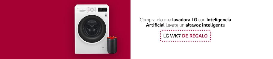 Promoción Lavadoras LG