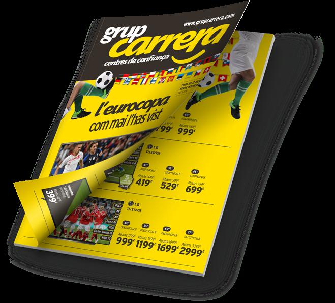 Catálogo Eurocopa 2021 - Grupo Carrera
