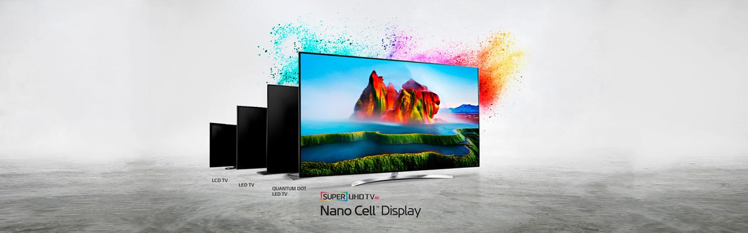 ¡Vive la experiencia audiovisual más completa con LG NanoCell!
