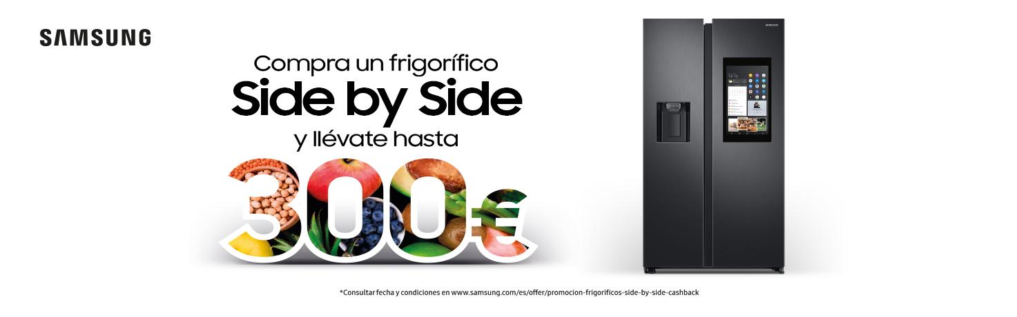 Promoción Samsung Side by Side